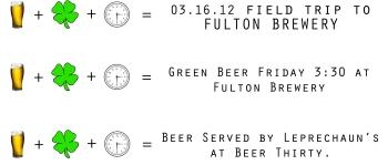 Beer Thirty =