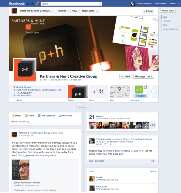Partners & Hunt Cover Image Facebook