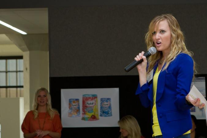 OLSON Speaking : Photo by Heather Rudloff