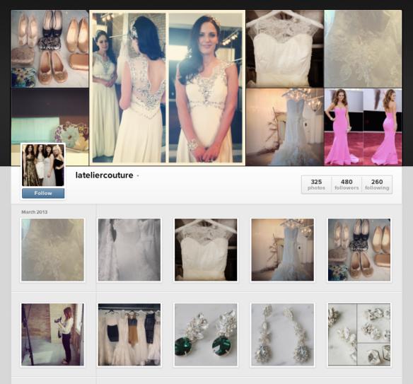 l'atelier instagram