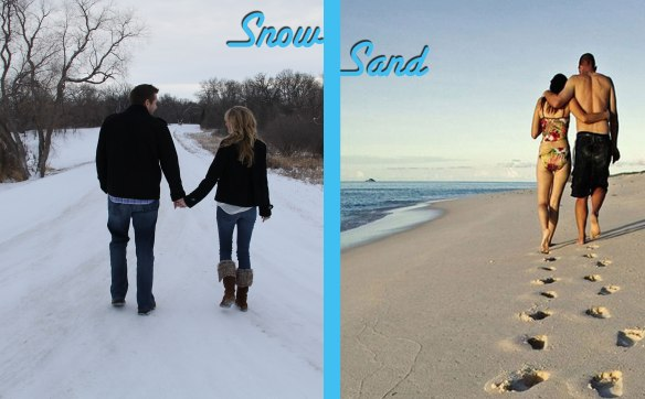 Snow to Sand