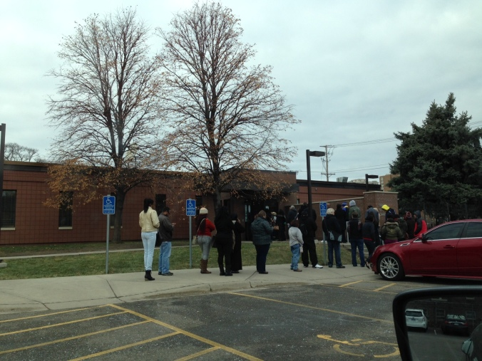 US social security office line