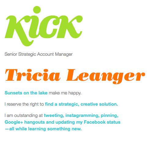 kick tricia leanger qs
